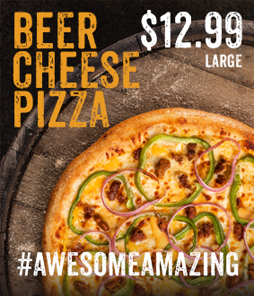 Beer Cheese Pizza