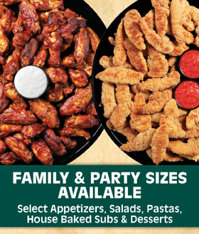 Family & Party Sizes